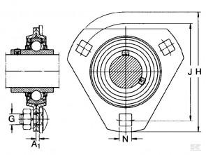 Lagerblok SBPF 206